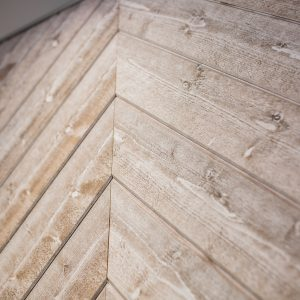 Rustic Stained Cladding, Cappuccino Colour Tongue & Groove Profile for Cladding or Ceilings (pack)