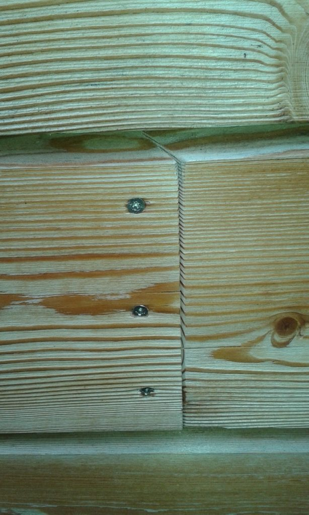 Siberian Larch, Heartwood Natural, Rhombus or Rainscreen Profile for Cladding or Fencing (pack)