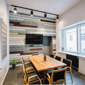 Rustic Stained Cladding, Cherry Colour Tongue & Groove Profile for Cladding or Ceilings (pack)