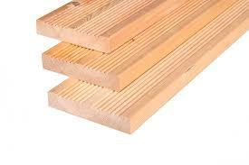 Siberian Larch Decking, Heartwood, Smooth and Reeded * Dual side profile (Pack)