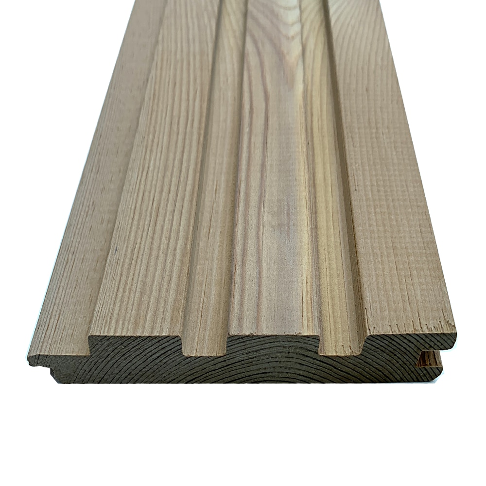 Thermowood Redwood D cladding * Dual side Profile Tongue and Groove or the Batten effect (Pack)