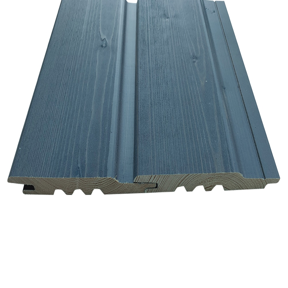 Grey Stained Exterior Timber Cladding, Tongue & Groove Shiplap (pack)