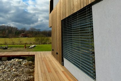 Pretreated Siberian Larch Cladding and Decking
