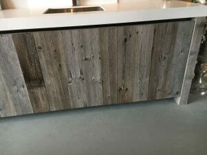Internal Fit Out Cladding old aged look timber