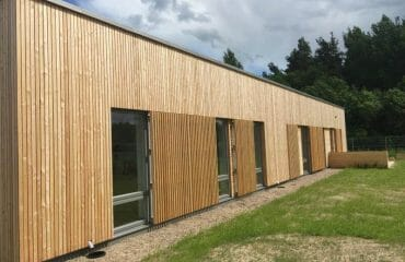 Siberian Larch Cladding Yorkshire Dales