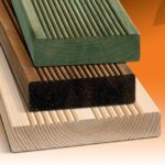 Untreated, Green, Brown Timber Decking