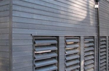 Pre painted black Timber cladding supplier