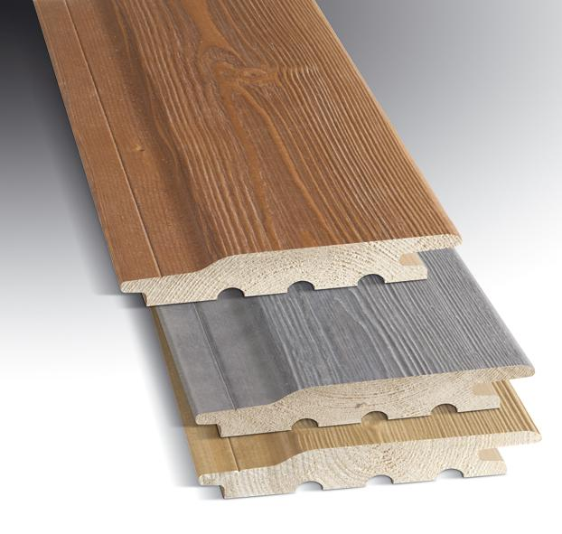 Factory Painted Cladding Exterior Wood with 10 year warranty