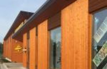 External Factory Finished Spruce Prepainted Timber Cladding