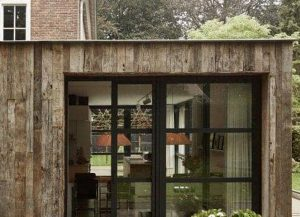 Reclaimed North American Oak Hardwood External Cladding