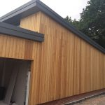 External weatherboarding H21 Siberian Larch Cladding School Project BS1186
