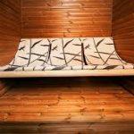 Thermowood in Sauna