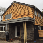 Waney Edge Larch grown in britain home grown timber cladding