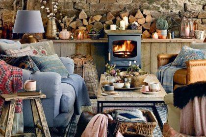 Rustic Shabby Chic Wood Interior