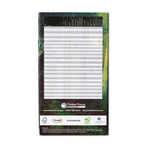 Timber Samples Folder