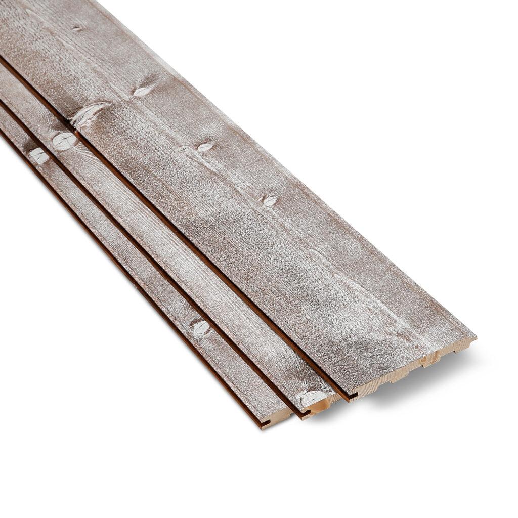 Premium Timber Cladding SertiWOOD® Rustic Cappuccino 3 Cladding boards