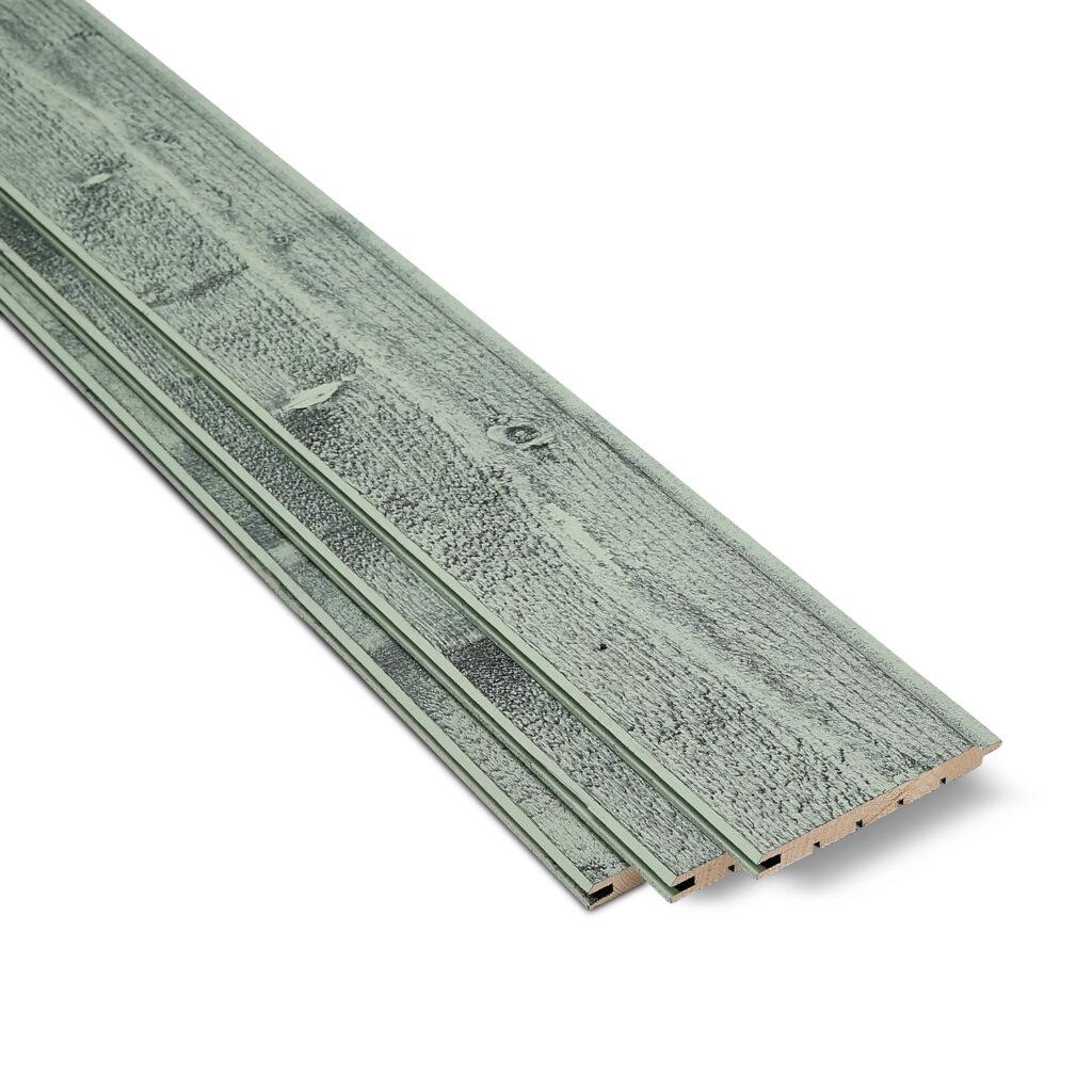 Timber Focus Internal Cladding SertiWOOD® Rustic Mint 3 cladding boards