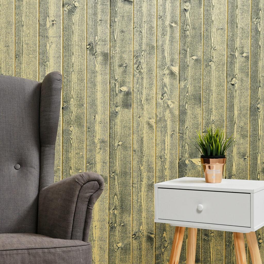 Premium Timber Cladding SertiWOOD® Rustic Lemon Vertical Tongue and Groove Board