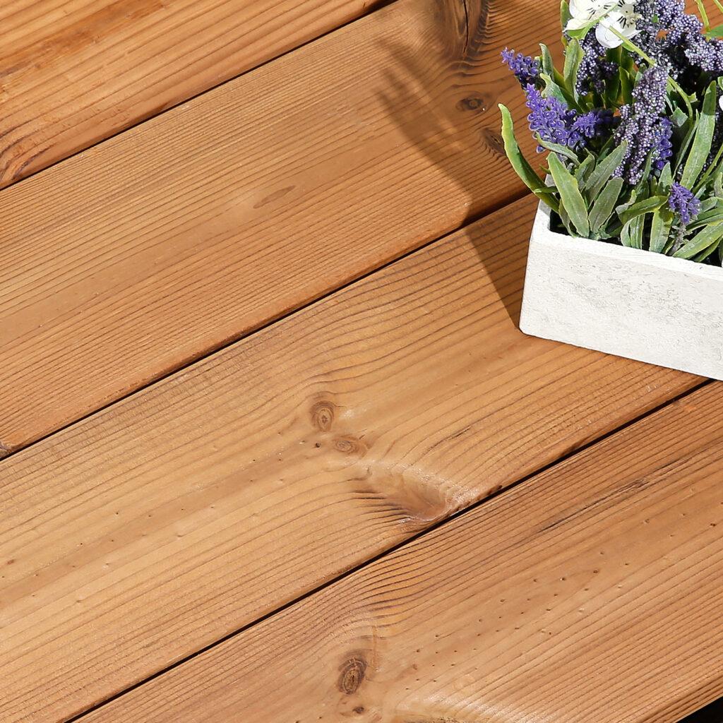 Timber Focus SertiWOOD Thermowood Redwood D Timber Decking