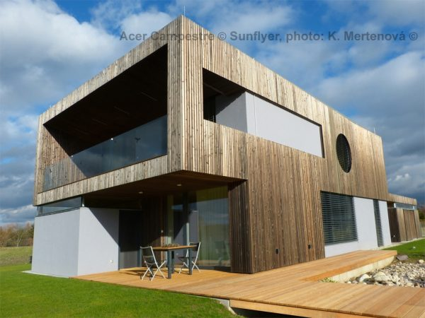Siberian Larch Heartwood,Pre-Aged Old Look Planed Square Edge Timber Cladding (Pack)