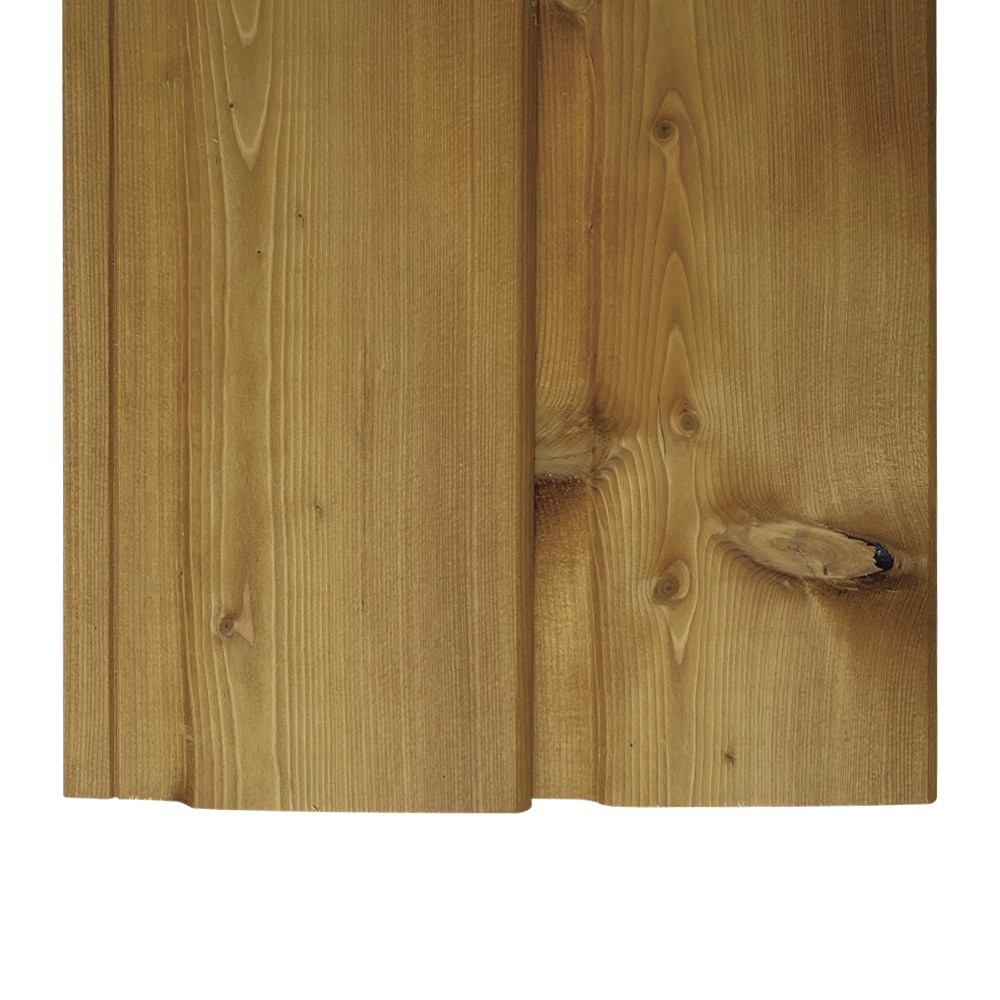 Siberian Larch, Light Oak UV Stained, Exterior Timber Cladding, Tongue & Groove Shiplap (pack)