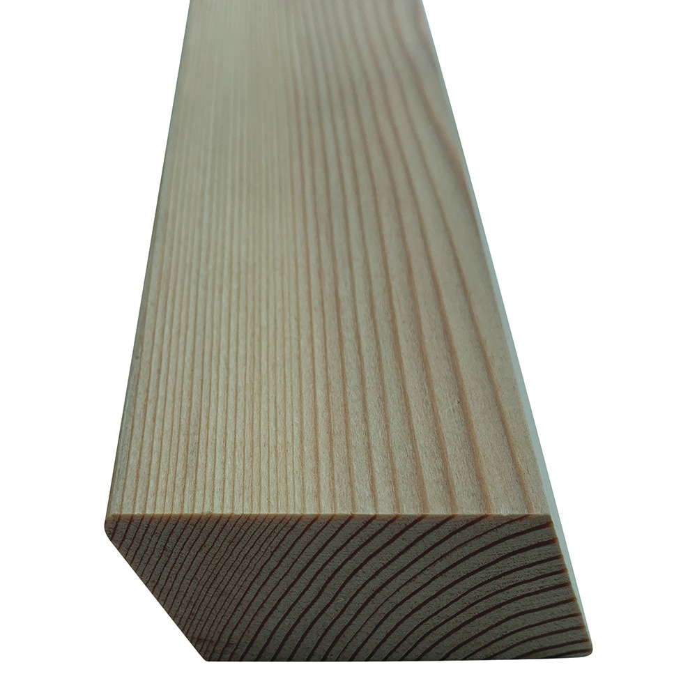 SertiWOOD®Siberian Larch,  Heartwood Natural, Rhombus or Rainscreen Profile for Cladding or Fencing (pack)
