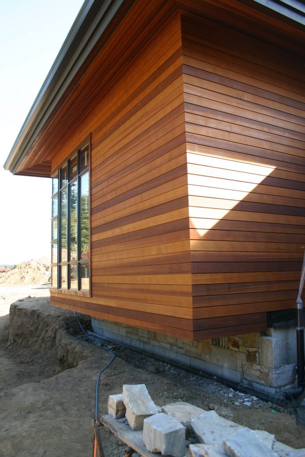 Canadian Premium Western Red Cedar Clear Cladding Profile PTGV2 TF1 Fencing, Cladding landscaping applications