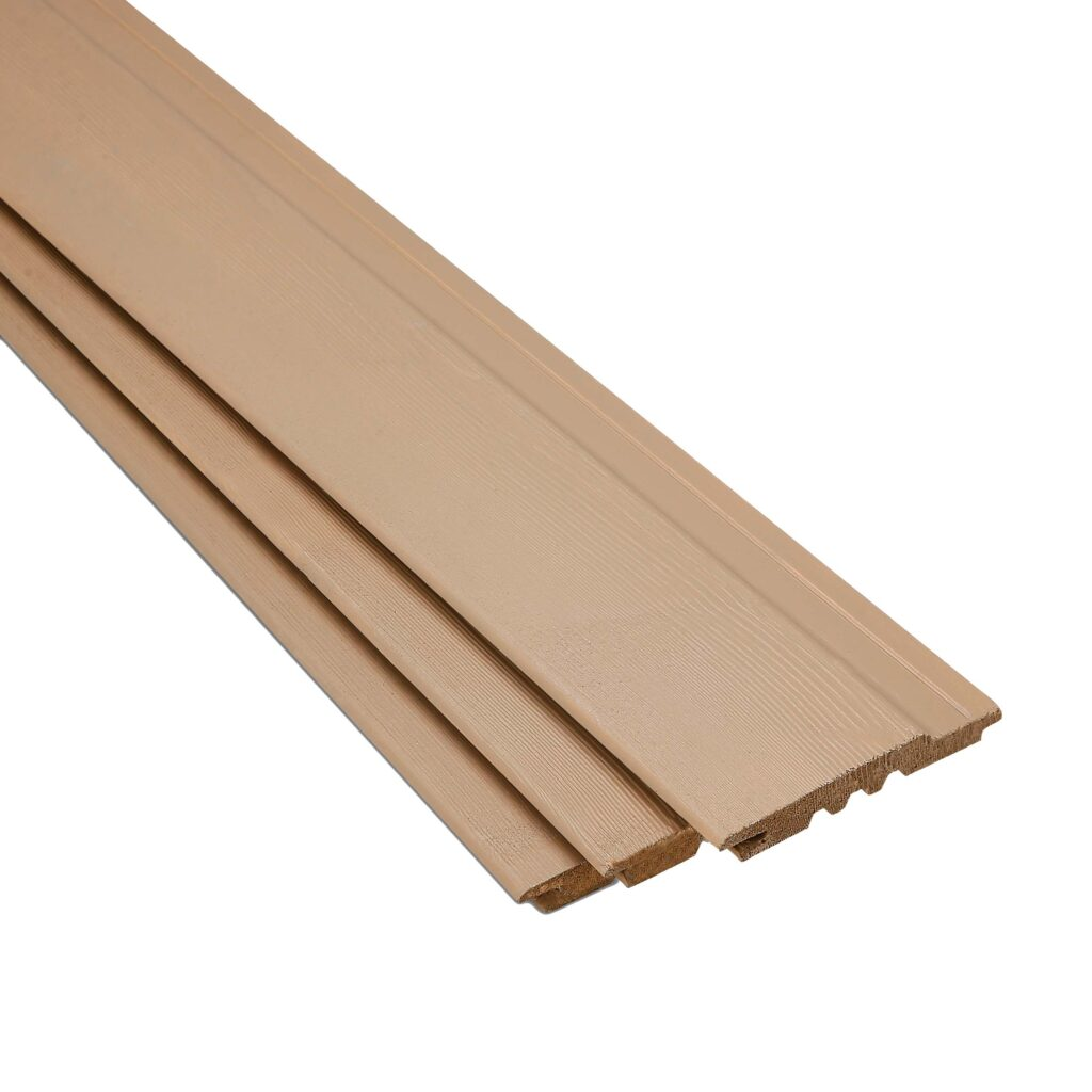 SertiWOOD Viking Grey Beige Brushed textured surface wood planks
