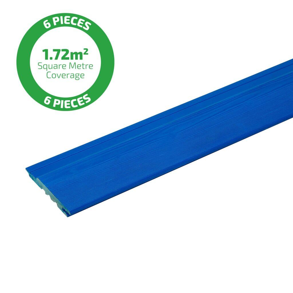 Premium Timber Cladding SertiWOOD® Viking Signal Blue Secret Fix