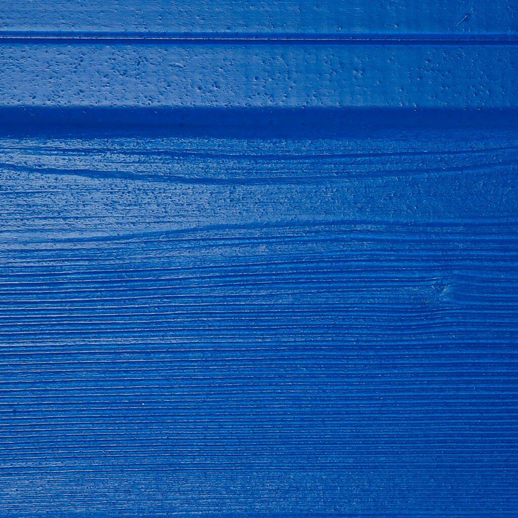 Premium Timber Cladding SertiWOOD® Viking Signal Blue Secret Fix Close up