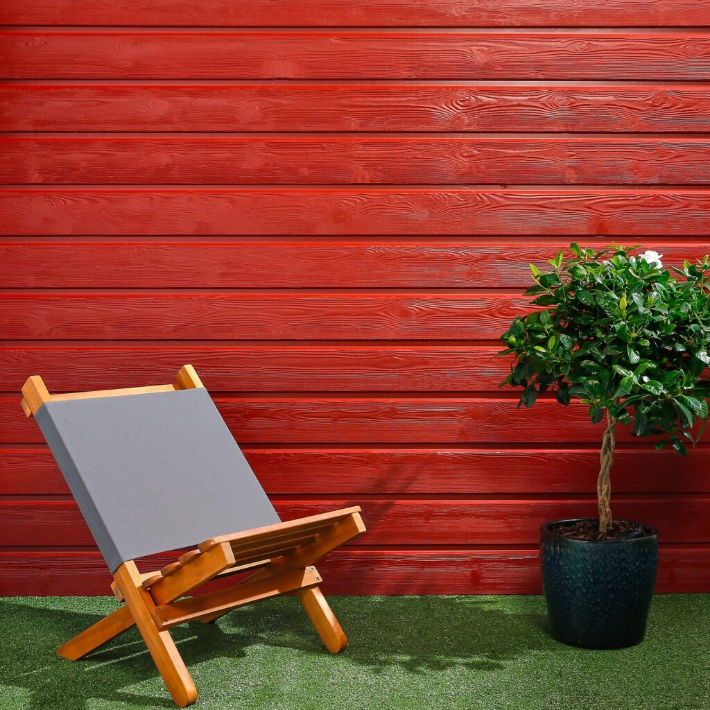 Premium Timber Cladding SertiWOOD® Viking Swedish Red Secret Fix Horizontal Cladding