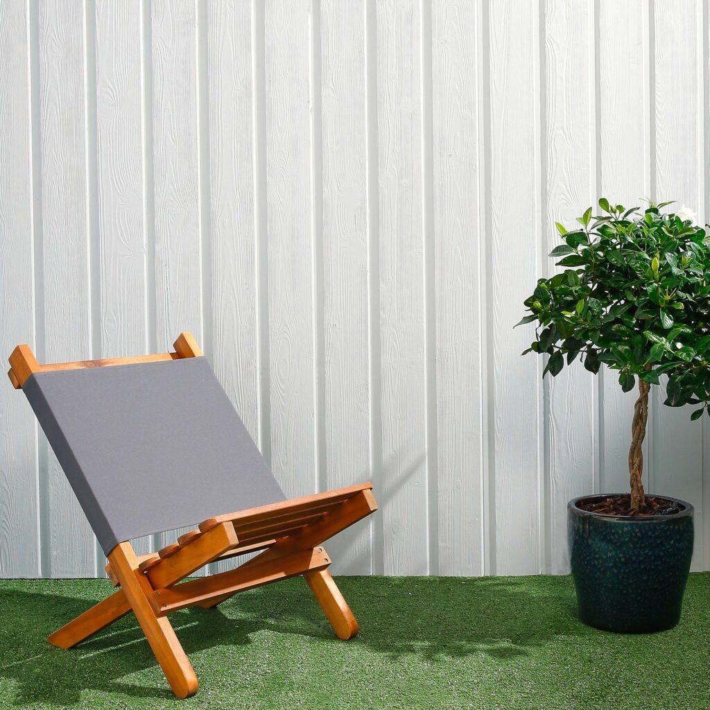 Premium Timber Cladding SertiWOOD® Viking Light Grey Secret Fix Vertical Cladding
