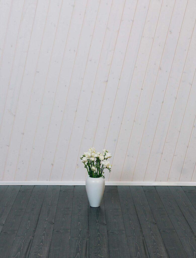 Diagonal Internal Cladding SertiWOOD White Wax