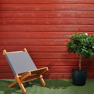 SertiWOOD Swedish Red Brushed Timber Cladding (19x146mmx2.357mtr = 126 pieces pack) 36.12m2