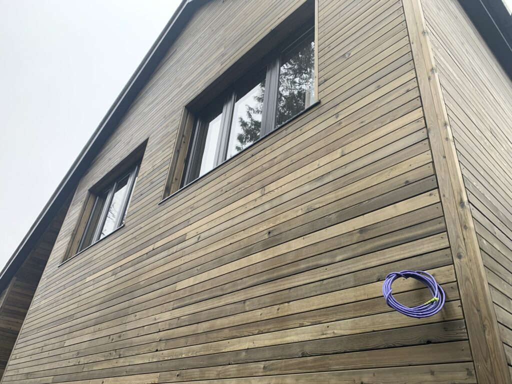 Preweathered Old Look Silvery Grey Cladding Rhombus supplied by Timber Focus - Horizontal Cladding